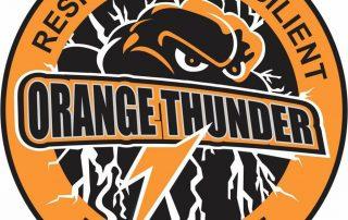 Orange Thunder Touch Football